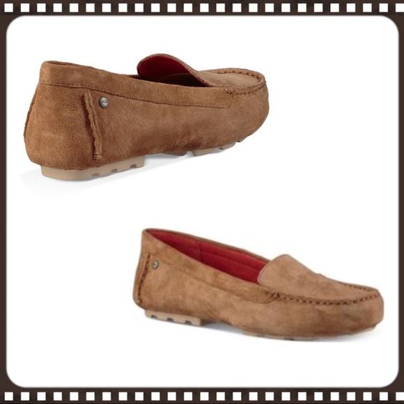 7fe02480b130 UGG Milana Loafer in Chestnut Suede