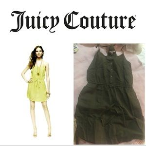 Juicy couture green olive dress