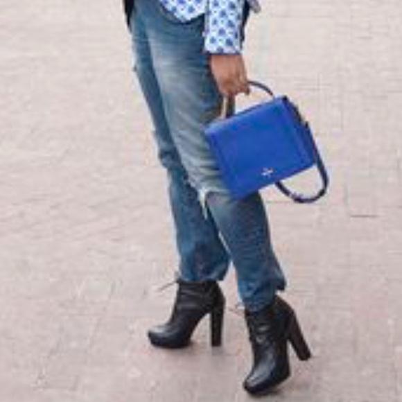 Pour La Victoire Handbags - Lil blue purse