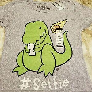 Grey Dino #selfie T-shirt , Hot Topic