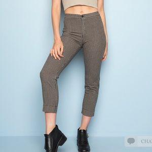 Brandy Melville Tilden pants checkered