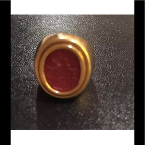 Jewelry - 18K GOLD INTAGLIO RING CUSTOM MADE  MARKED 750