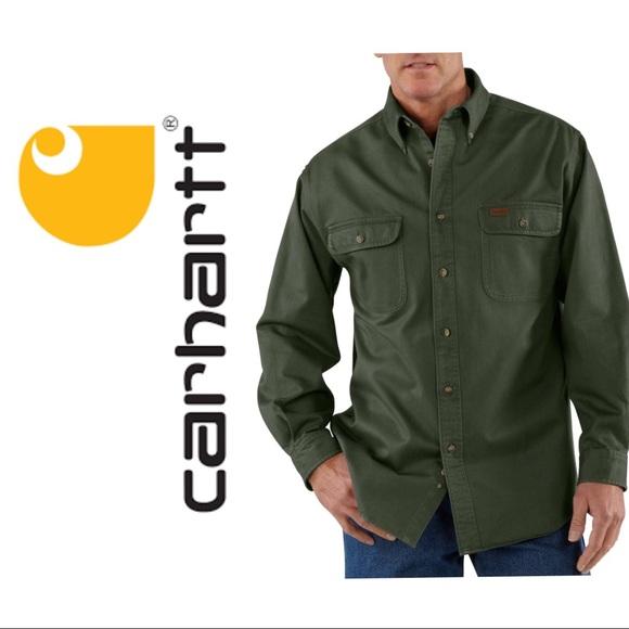 c3d2f9029589 Carhartt Shirts - Sandstone Twill Shirt. Carhartt Other - Sandstone Twill  Shirt