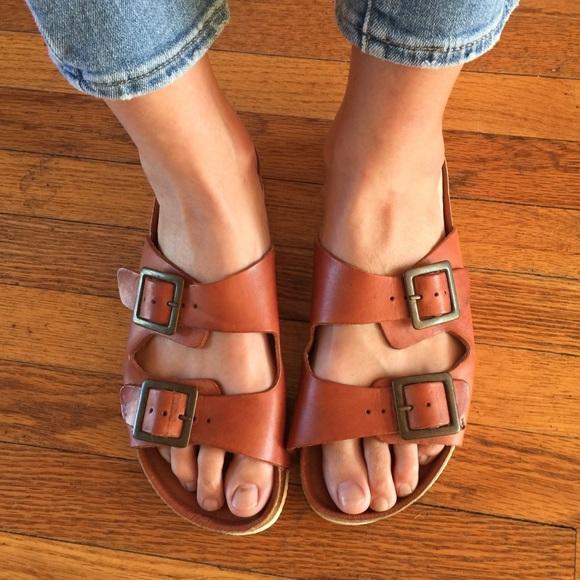 7e20bd4c3298 Topshop Birkenstock style sandals. M 59f6c4d6522b45b37609935a