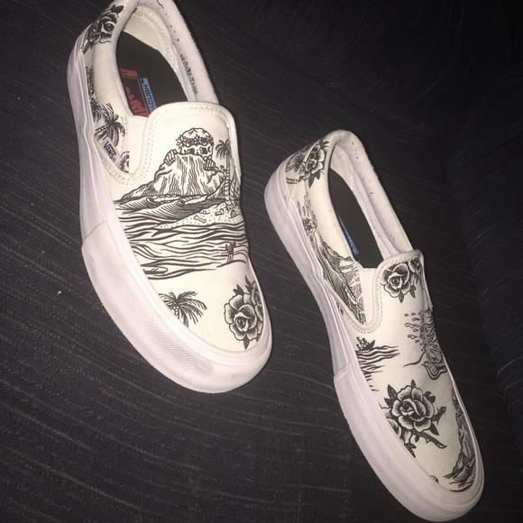 a2e0f97933 Vans Shoes - Rare Vans x Sketchy Tank Slip-On Pro Skate Shoes