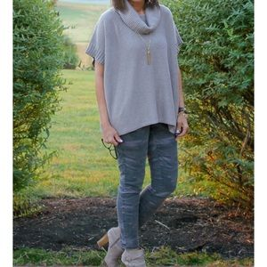 Old Navy Cowl Neck Sweater Poncho
