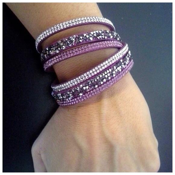 1bb3020f1 YIK FUNG Swarovski Crystals Double Wrap Bracelet. M_59f7512b291a351c930add25