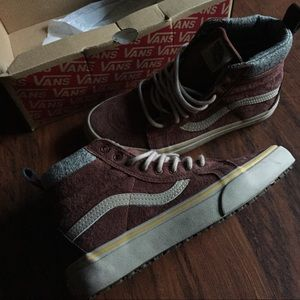 1c052f4537 Vans Shoes - Free People Vans Sk8 hi DX MTE 7.5 cappuccino