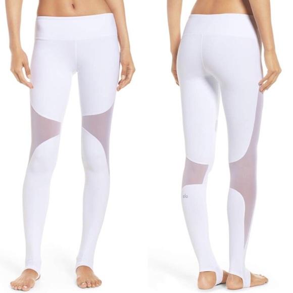 b492889f8bd1b ALO Yoga Pants | White Coast Stirrup Leggings | Poshmark