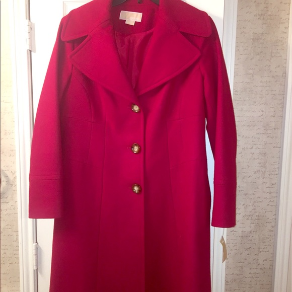 Michael Kors Jackets & Blazers - Brand new Michael Kors wool coat.  Super cute!