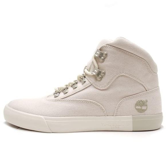 Timberland men sneakers Newport bay 2.0 off white