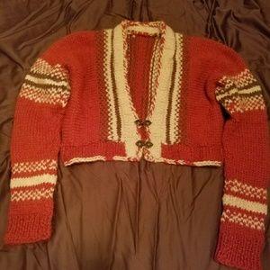 Sweaters - Authentic Alpaca knit shrug