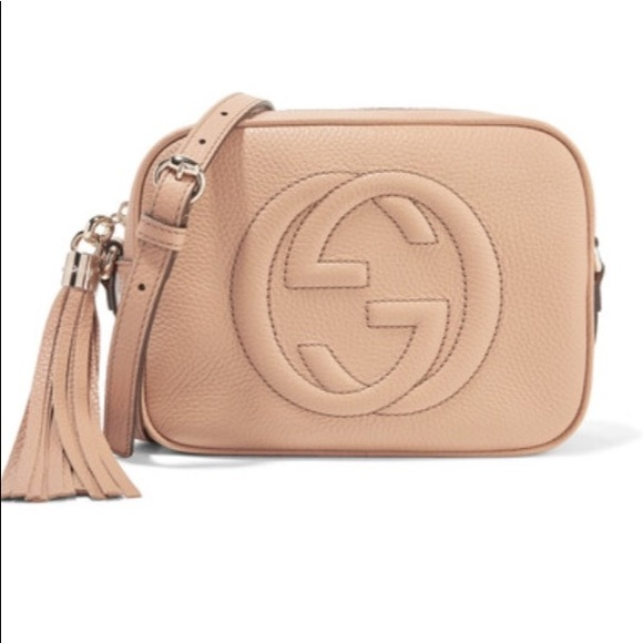 Gucci Soho Disco textured-leather shoulder bag 870850649f3e4