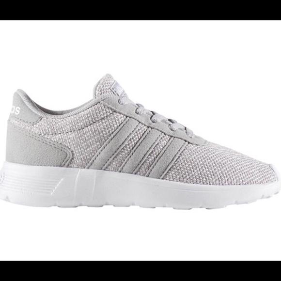 classic shoes uk store good texture adidas Lite Racer K Girls Running Shoes - Big Kids NWT