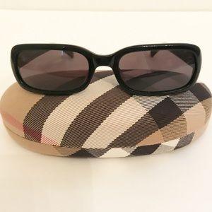Burberry by Safilo Black Sunglasses w Case