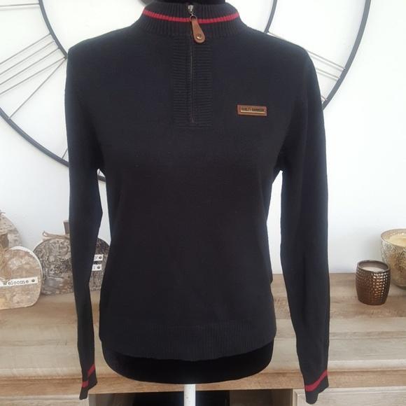 Harley Davidson Sweaters Vintage Harleydavidson Black Sweater