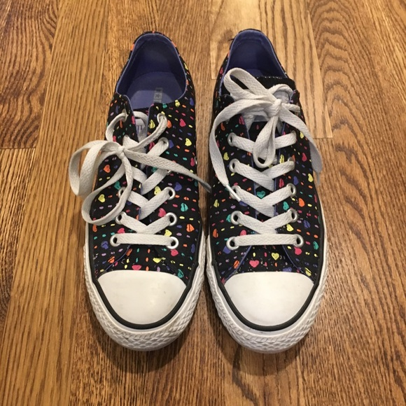 2ae789a3c59d Converse Shoes - Converse Multi-Colored Heart Chuck Taylor s