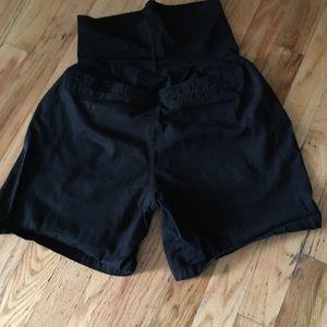 Maternity shorts.