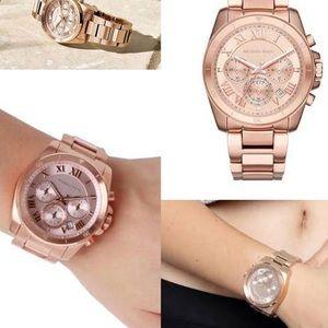 ebdb9db6ad3b Michael Kors Accessories - NWT Michael Kors Rose Gold Watch MK6367