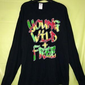 Young, Wild, & Free long sleeve shirt