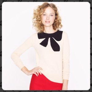NWT J. Crew Giant Bow Sweater