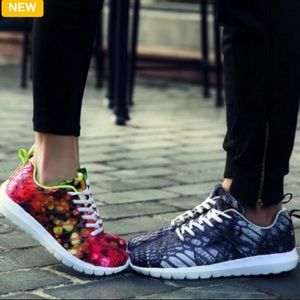 Shoes - US Couples Sports Trainer Sneakers Flat Gym Shoes