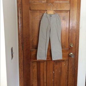 Boys Izod khaki pants