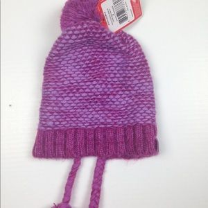 5baedf1dc NWT The North Face Girls Flecka Earflap Hat FIRM NWT