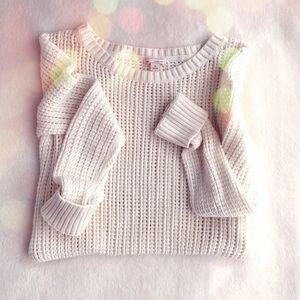 GAP Open Stitch Pull Over Sweater
