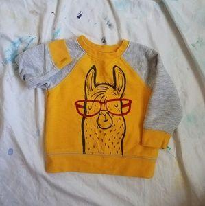 Cat & Jack Baby Sweater Llama