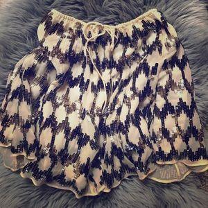 Elizabeth and James sequin skirt