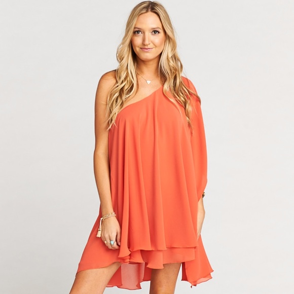 Show Me Your MuMu Dresses & Skirts - NWT Show Me Your Mumu Zsa Zsa coral dress