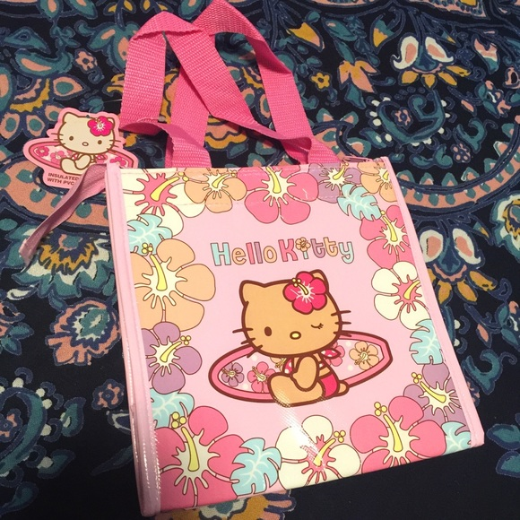 Hello Kitty Lunch Bag Insulated Tropical exclusive f696bb94dd298