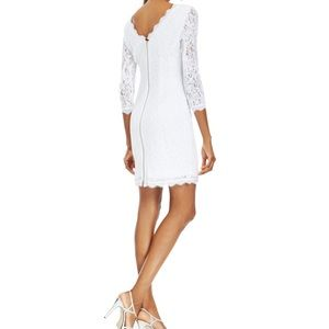 White Adrianna Papell Dress