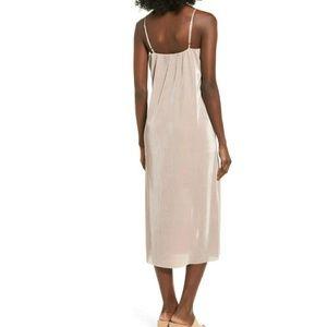 8d7fb3132e bp Dresses - BP. Ribbed Midi Slipdress TAN OAK dress