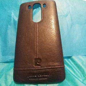 Pierre Cardin Leather phone case