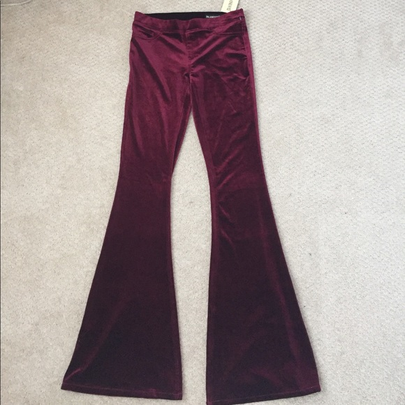 b7b2f0b7d83ee BLANK NYC Velvet Flare Pants
