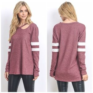 LAST 1! ❤️Super soft French Terry Tunic! In Mauve