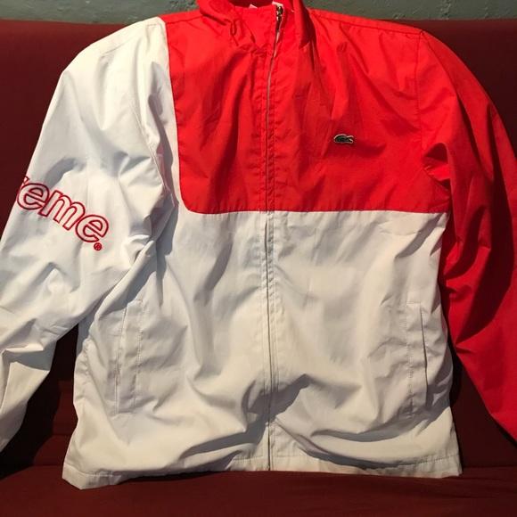 06addb12ccea Supreme x Lacoste jacket. M 59f777bb56b2d6d6740b51fc