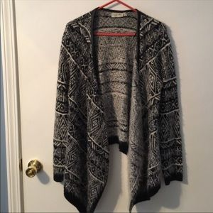 Stitch Fix RD Style Open Front Aztec Sweater
