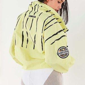 Op For UO Striped Windbreaker Jacket