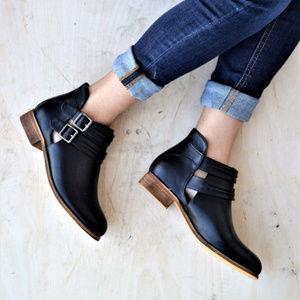 Shoes - Buckle Booties
