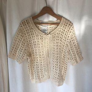 Vintage Knit half sleeve sweater