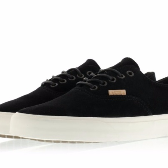 d8d73b5dd1de Vans Men s Era Decon Ca Raw Suede Black Cork Shoes