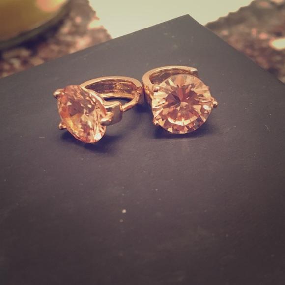 Express Jewelry Rose Gold Earrings Poshmark