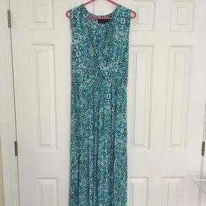 Cynthia Rowley Sleeveless Maxi Dress Sz XL