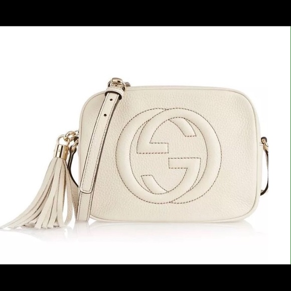 Gucci Bags   Soho Disco Mystic White Italy Leather Body   Poshmark dcc6260df2