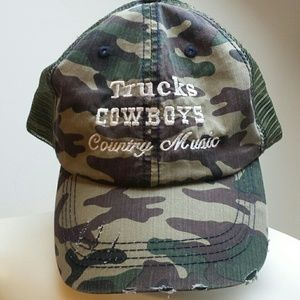 Accessories - Trucks Cowboys Country Music trucker hat
