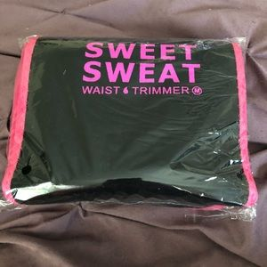 60a5af397c Sweet Sweat Accessories - Pink trimmed Sweet Sweat Waist Trimmer Belt