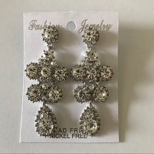 Jewelry - Sparkly Dangly Stud Earrings